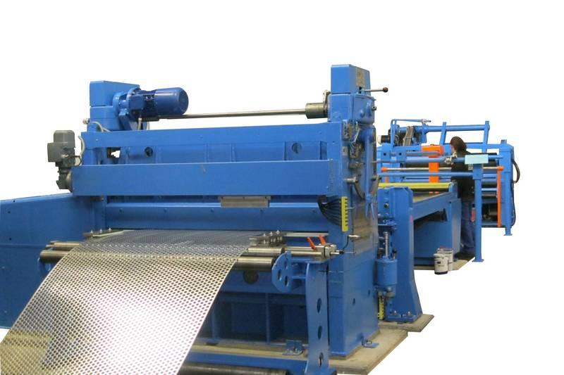 conception et fabrication de planeuse industrielle de tôle